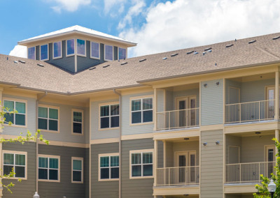 The Villages at Ben White exterior with balconies