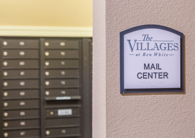 Mail Center at the Villages at Ben White